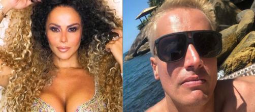 Viviane Araújo e Leo Dias (Reprodução/Instagram)