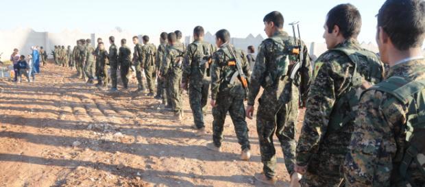 Les Forces démocratiques syriennes ont lancé l'assault final, hier.