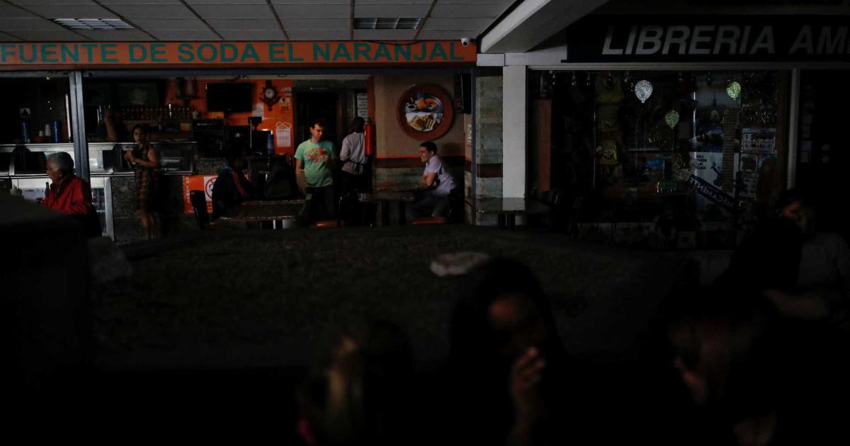 Apagão Na Venezuela Deixa Maior Parte Do País Sem Luz Em