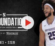 Barret Benson is looking to go to a better program [Image via Northwestern Athletics/YouTube]