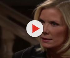 Brooke confronts Taylor about her kissing Ridge. [Source: CBS/YouTube]