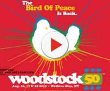 Woodstock 50, la locandina dell'evento tributo del prossimo 16 17 18 agosto 2019