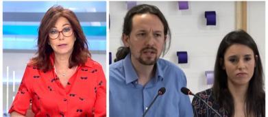 Ana Rosa pide que haya mayor natalidad riéndose de la paternidad de Iglesias y Montero