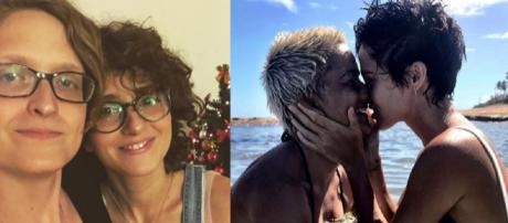 Atrizes homossexuais. (Reprodução Instagram/@carooolduarte/@nandacosta)