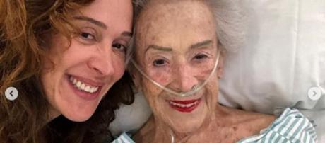 Claudia Raia lamenta morte da mãe aos 95 anos. (Foto: Arquivo Blasting News)
