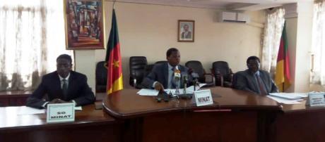 Le Ministre de l'Administration Territorialme Paul Atanga Nji lors de la 32 e session du Hadj (c) Yahaya Idrissou