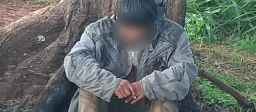 Homem vivia em condições desumanas em SP (Foto: Divulgação/Polícia Civil)