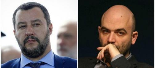 Lo scontro tra Matteo Salvini e Roberto Saviano prosegue in tribunale