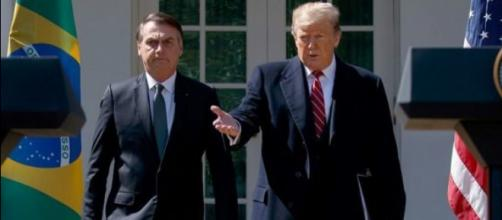 Trump e Bolsonaro são criticados pelo governo da Venezuela (Arquivo Blasting News)