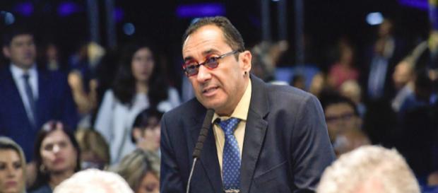 Gilmar Mendes pede providências a Toffoli contra dizeres do senador Jorge Kajuru (Arquivo Blasting News)