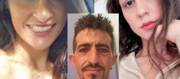 Nicoletta Indelicato, a destra, è stata accoltellata e bruciata da Carmelo Bonetto, reo confesso, fermato con la fidanzata Margareta Buffa.