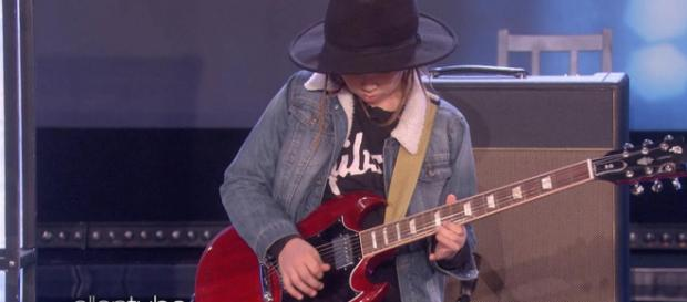 Taj Farrant, bambino prodigio della chitarra
