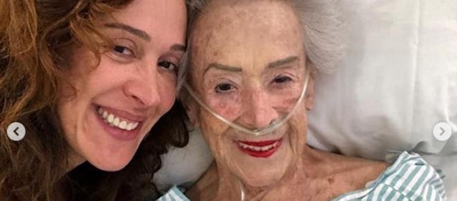 Claudia Raia lamenta morte da mãe: 'Fico desnorteada, sem rumo'
