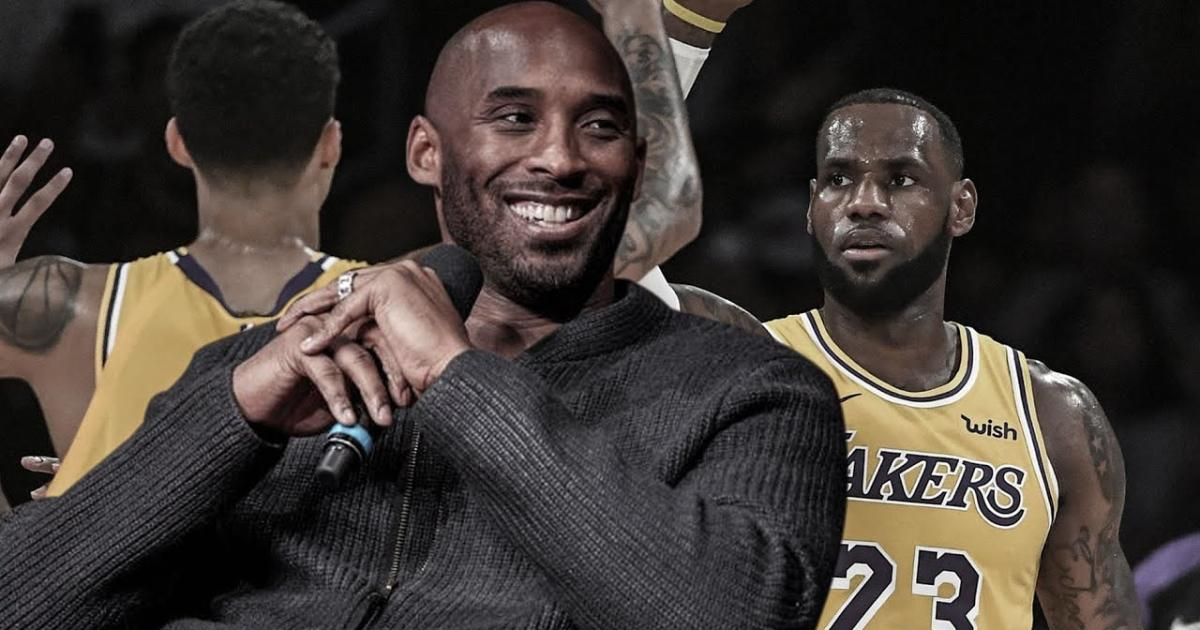 2b52509e5 Kobe Bryant gives message to LeBron James on Lakers  struggles