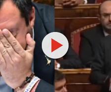 Matteo Salvini finisce in lacrime al Senato. Blasting News