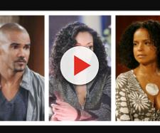 Shemar Moore, Mishael Morgan, Victoria Rowel return t Y&R,(Image Source: Flipboard Y&R spoilers-YouTube.)
