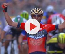 Vincenzo Nibali, la vittoria alla Milano-Sanremo.