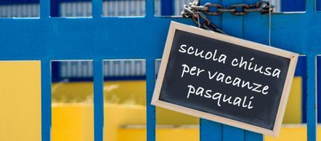 Calendario vacanze di Pasqua a scuola