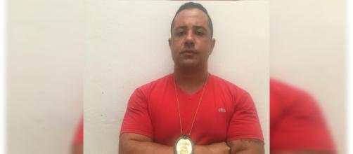Policial Eduardo Andrade Santos, que entrou na escola enquanto atiradores ainda realizavam o ataque. (Reprodução/Arquivo Pessoal)