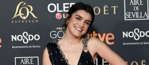 Amaia Romero durante la última gala de los Premios Goya. / CORDON PRESS
