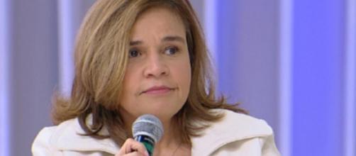 Atriz da Globo é internada. (Foto: Reprodução/Rede TV)