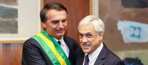 Bolsonaro vai ao Chile de olho em uma reorganização regional. (Foto: Reprodução)
