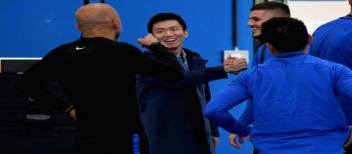 Inter confronto tra Icardi e Zhang