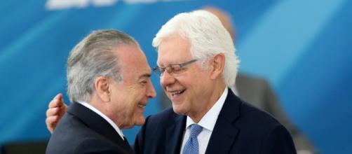 Temer e Moreira Franco são presos pela força-tarefa da Lava Jato. (Arquivo Blasting News)