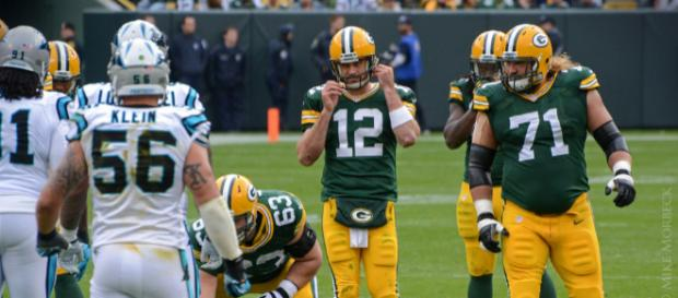 Aaron Rodgers has been named the league's MVP twice. [Image Source: Flickr | Mike Morbeck]
