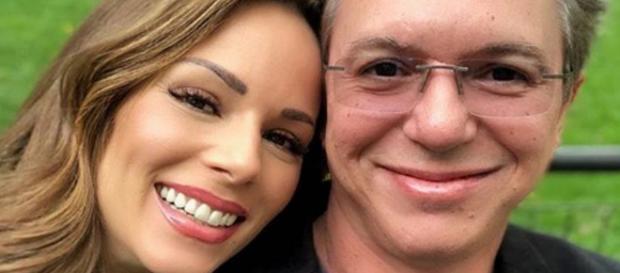 Ana Furtado ao lado do marido Boninho. (Foto: Instagram/@aanafurtado)