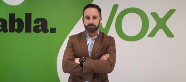 Sanitago Abascal es líder de Vox