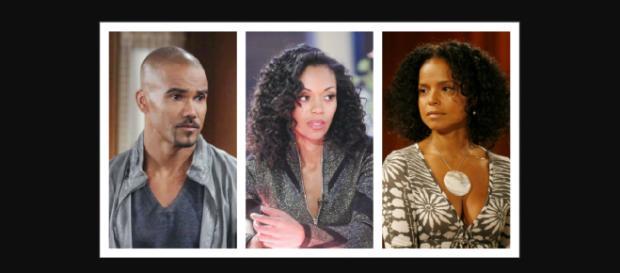 Shemar Moore, Mishael Morgan, Victoria Rowel return t Y&R,(Image Source: Flipboard Y&R spoilers-YouTube.)