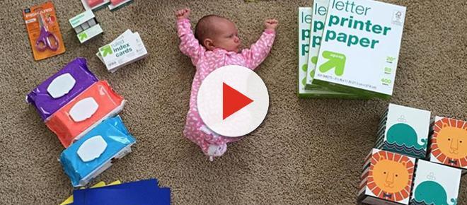 Ensaio compara tamanho de bebê prematuro com objetos diversos