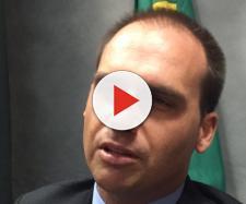 Eduardo Bolsonaro apoia uso da força contra Maduro - (Foto: Arquivo/BlastingNews)