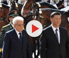 Il presidente cinese Xi Jinping incontra Mattarella al Quirinale