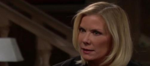 Brooke is outraged at Taylor for kissing Ridge. [Source: CBS/YouTube]