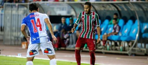 Everaldo quer jogar o Fla-Flu (Foto: Divulgação/ Lucas Merçon/Fluminense)