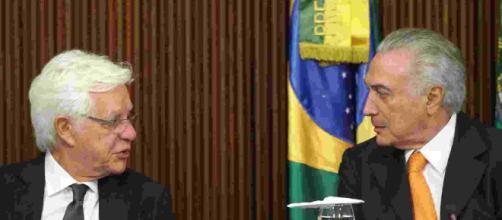 Michel Temer e Moreira Franco foram presos em operação da PF - (Foto: Arquivo/Blasting/News)