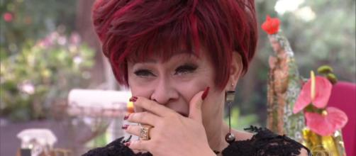 Nany People se emociona no 'Mais Você' (Foto: Reprodução/ TV Globo)