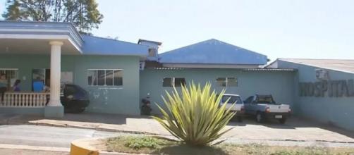 Recém-nascido foi encontrado morto na Santa Casa de Maracaí. (Foto: Reprodução/TV TEM)