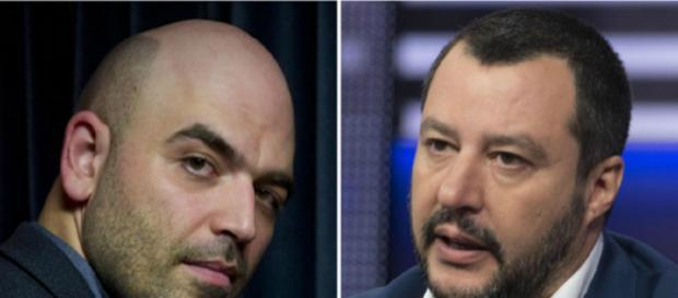 Intellettuali di tutto il mondo solidali con Roberto Saviano contro Matteo Salvini