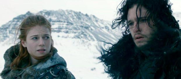 Kit Harington & Rose Leslie (Foto - HBO)