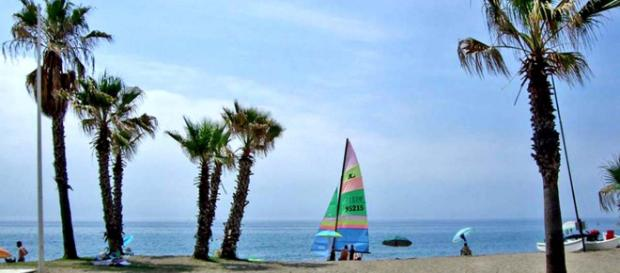La Cala de Mijas is a small seaside resort on the Costa del Sol in southern Spain. [Image courtesy Anne Sewell]