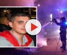 Tragedia nella notte, 23enne muore intrappolato nella sua auto in fiamme nel Casertano - Foto Internapoli