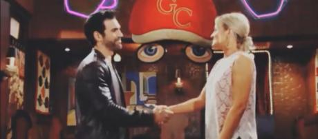 Y&R rumos say Rey and Sharon may get married. (Image Source:Trend Street-YouTube.)