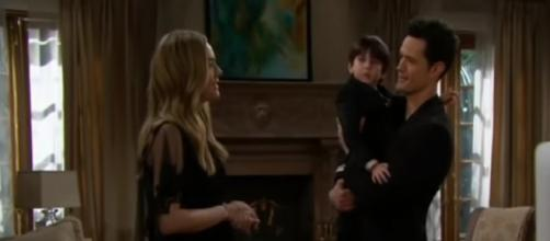 'Bold and the Beautiful': Hope shocked over new mommy request. - [CBS / YouTube screencap]