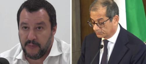 Matteo Salvini non le manda a dire al ministro Tria