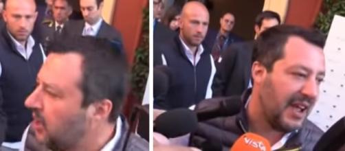 Salvini richiama i giornalisti rispetto a domande su cose che sarebbero stupidaggini.