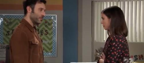 Shiloh intimidates Willow.(Image Source: ABC soaps-YouTube.)