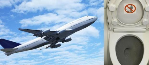 Airplane passenger licks toilet seat in viral video